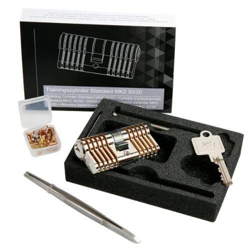 Multipick Premium Super-Set Cylinder Repinnable Practice Lock