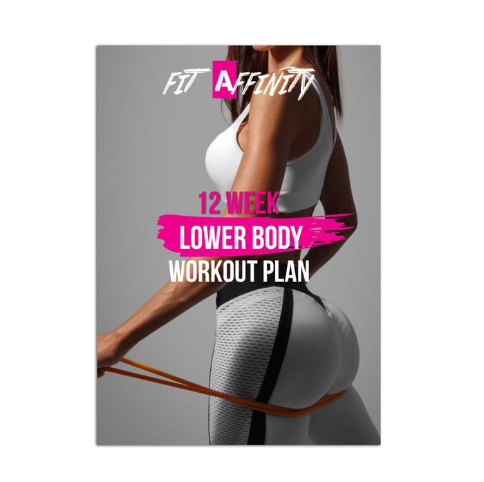 12 Week Butt Workout Plan