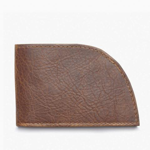 Rogue Front Pocket Wallet in Bison