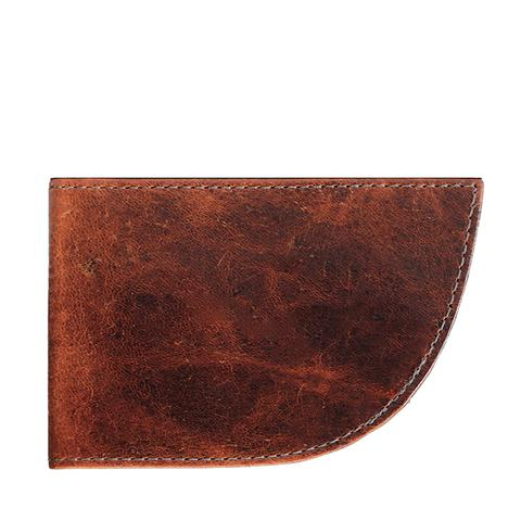 Nantucket Front Pocket Wallet in Moose Leather