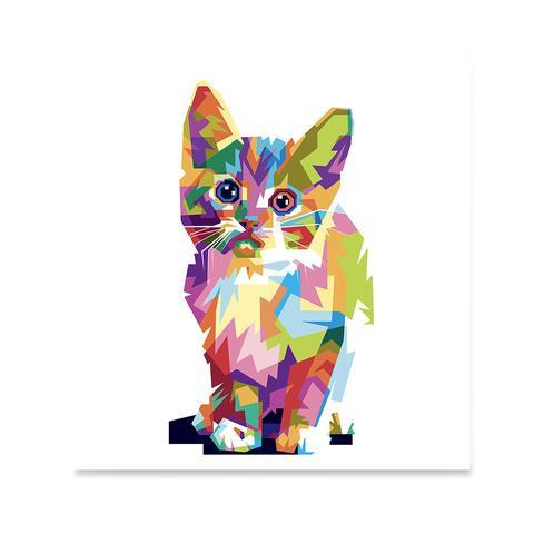 The Cat - Cubism