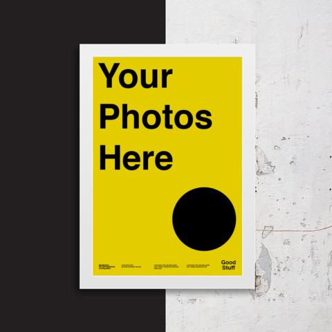 Create Your Custom Poster