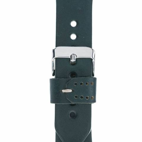 Sport Strap : Genuine Leather Band for Apple Watch 38mm / 40 mm in Lake Green