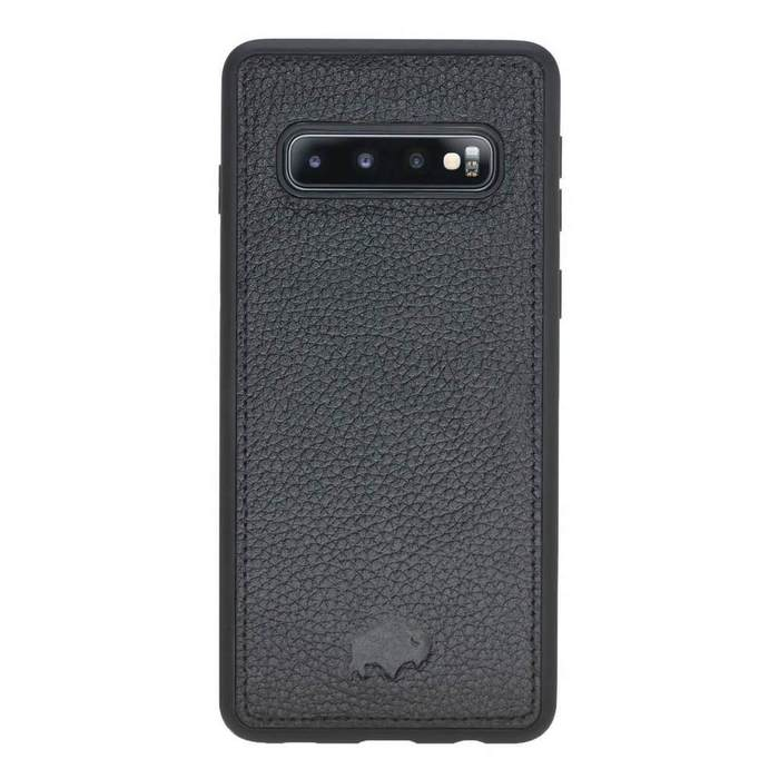 York 360 Degree Leather Snap On Case for Samsung Galaxy S10+ Plus