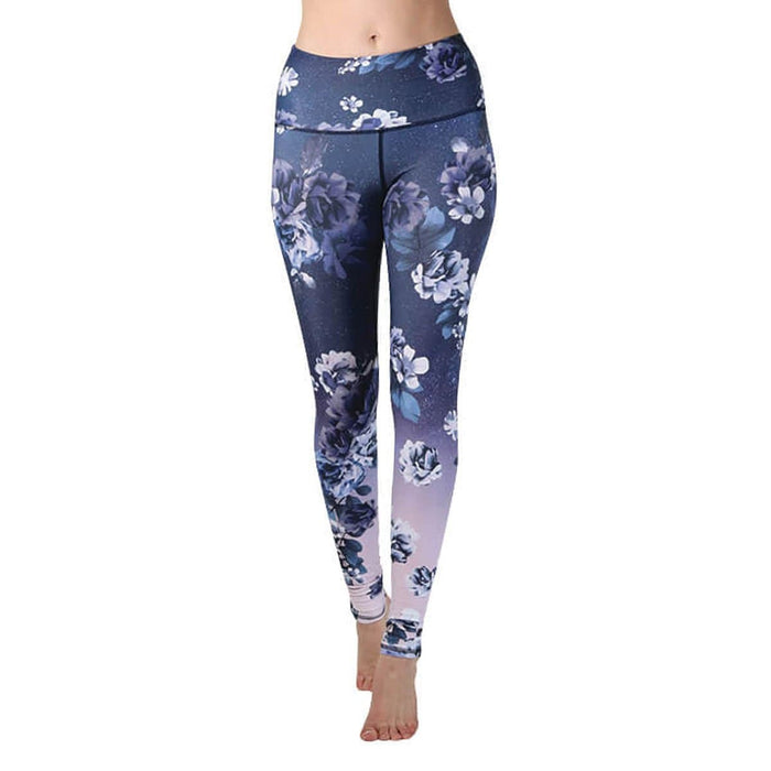Multi Coloured Sissy Dragonfly Yoga Pants Women's Clothing