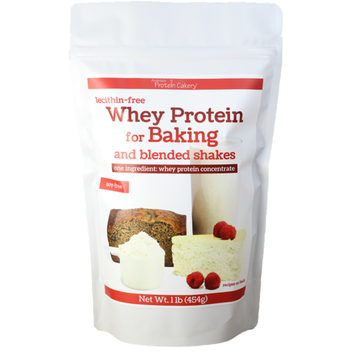 Lecithin-Free Whey Protein For Baking And Blended Shakes