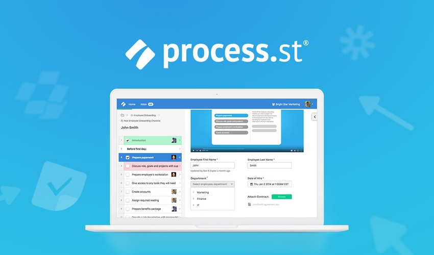 """Manage and streamline repeatable checklists and procedures with """"Process Street"""""""