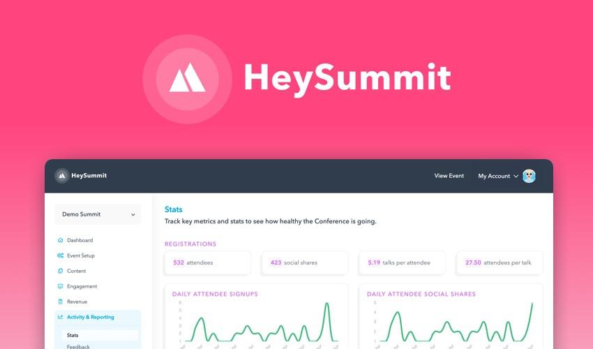 HeySummit | Exclusive Offer from AppSumo