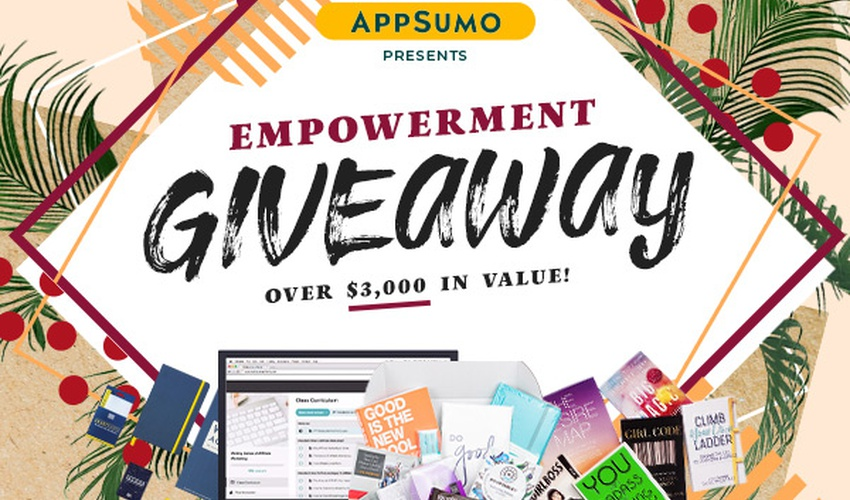 Empowerment Giveaway | Exclusive Offer from AppSumo