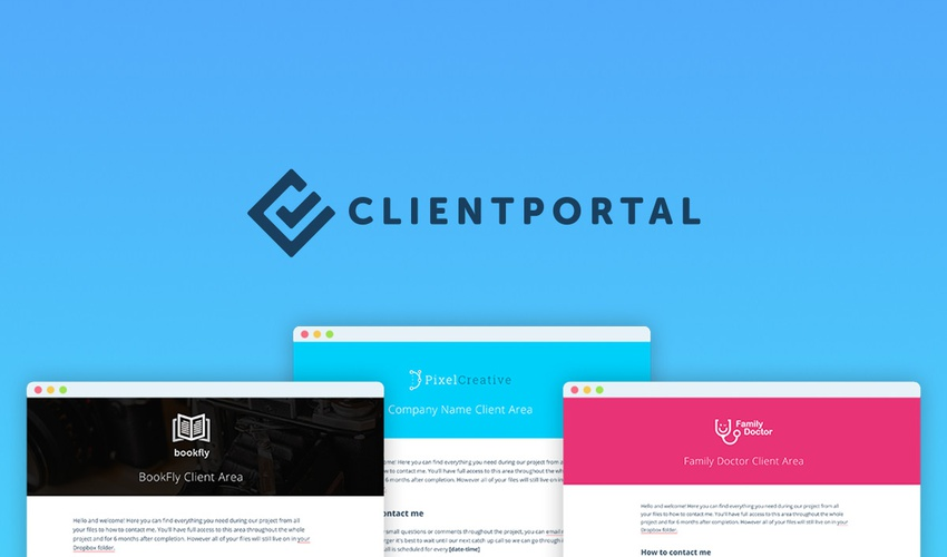 client portal exclusive offer from appsumo