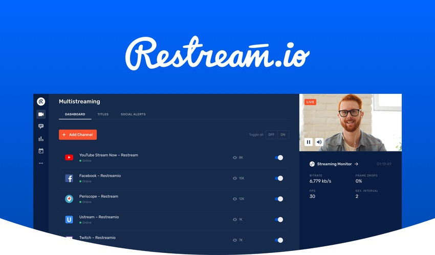 Restream | Exclusive Offer from AppSumo