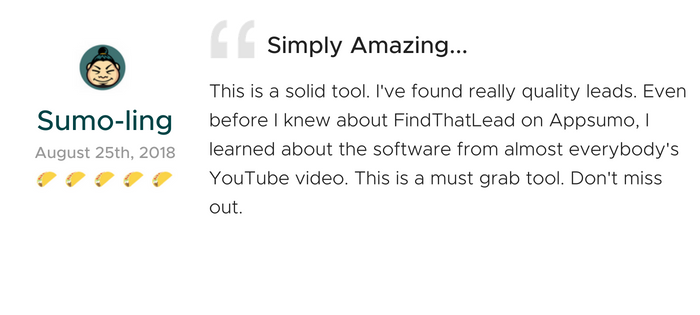 Lifetime Access to FindThatLead