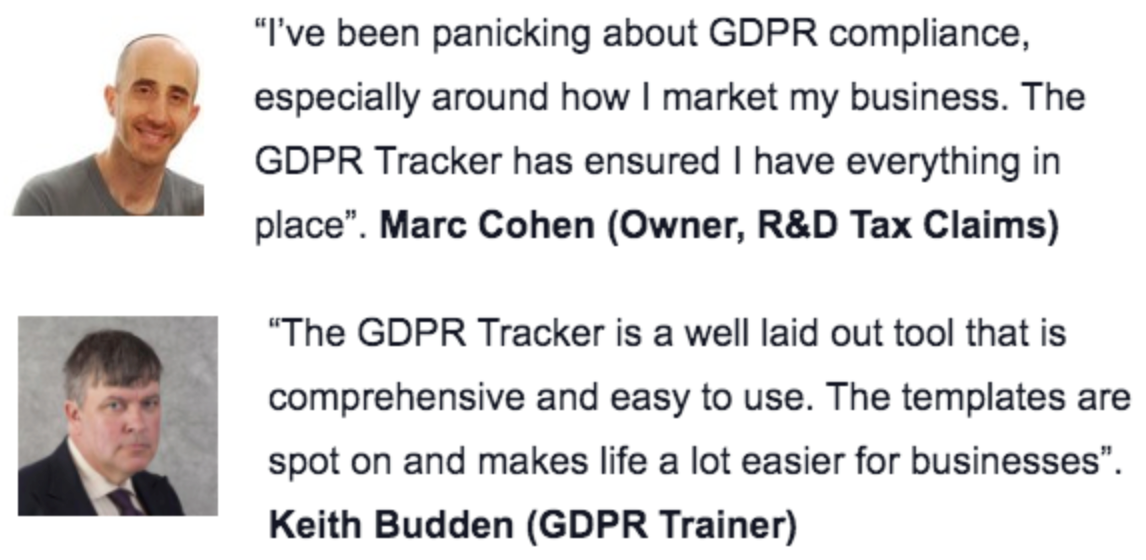 Lifetime Access to GDPR Tracker
