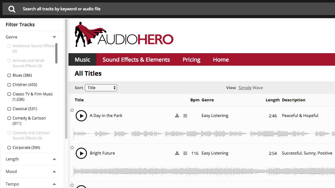 Lifetime Access to AudioHero