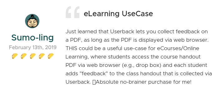 Lifetime Access to Userback