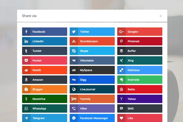 List of Social Media For Social Snap