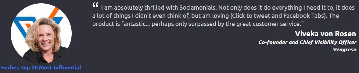 Lifetime Access to Sociamonials