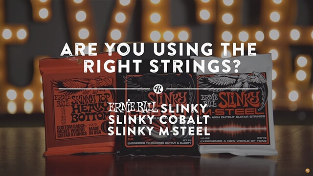 Compare our electric strings