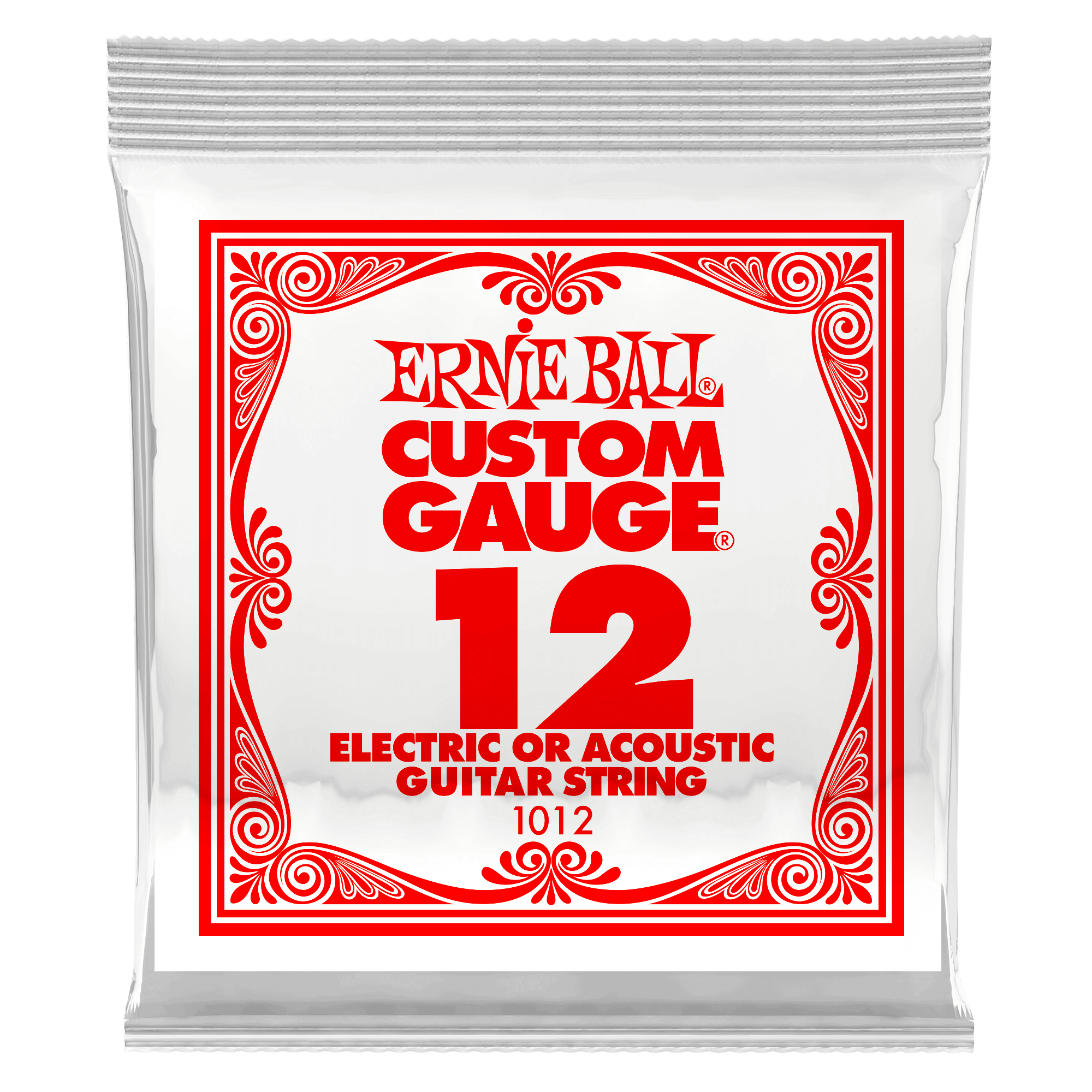 Plain Steel Electric Or Acoustic Guitar Single Strings Ernie Ball