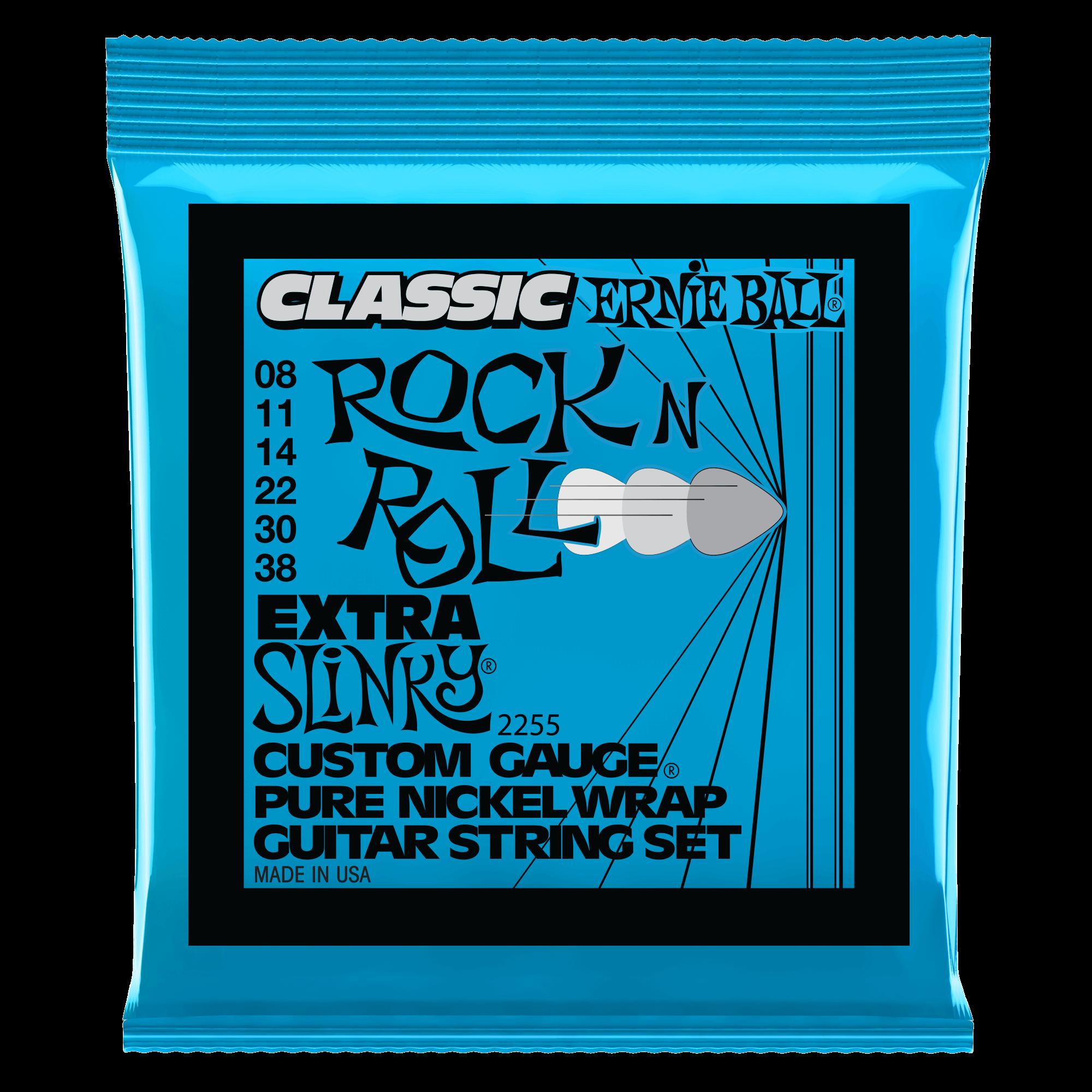 slinky classic rock n roll pure nickel wrap electric guitar strings ernie ball. Black Bedroom Furniture Sets. Home Design Ideas