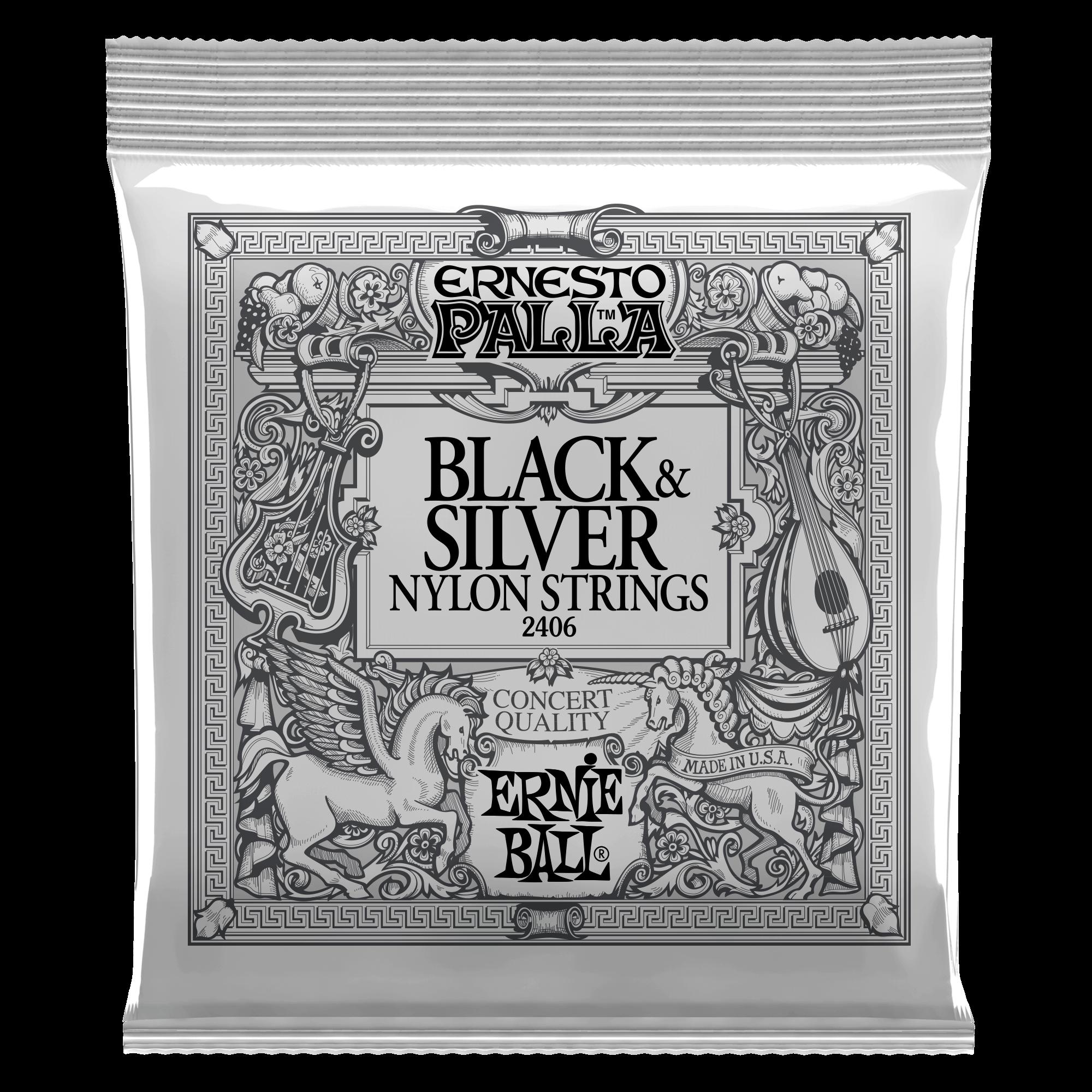 Ernesto Palla Nylon Black//Silver