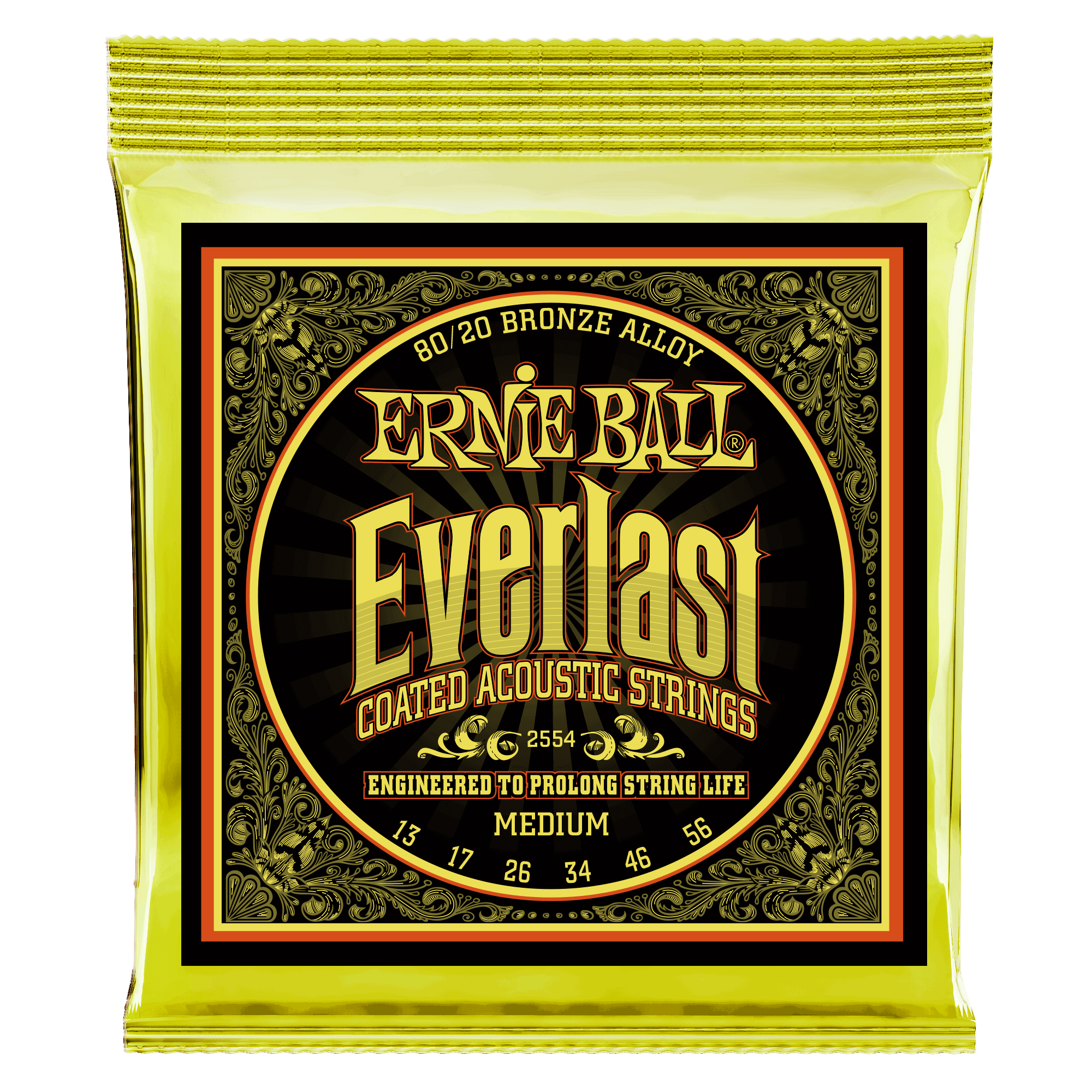 everlast coated 80 20 bronze acoustic guitar strings ernie ball. Black Bedroom Furniture Sets. Home Design Ideas
