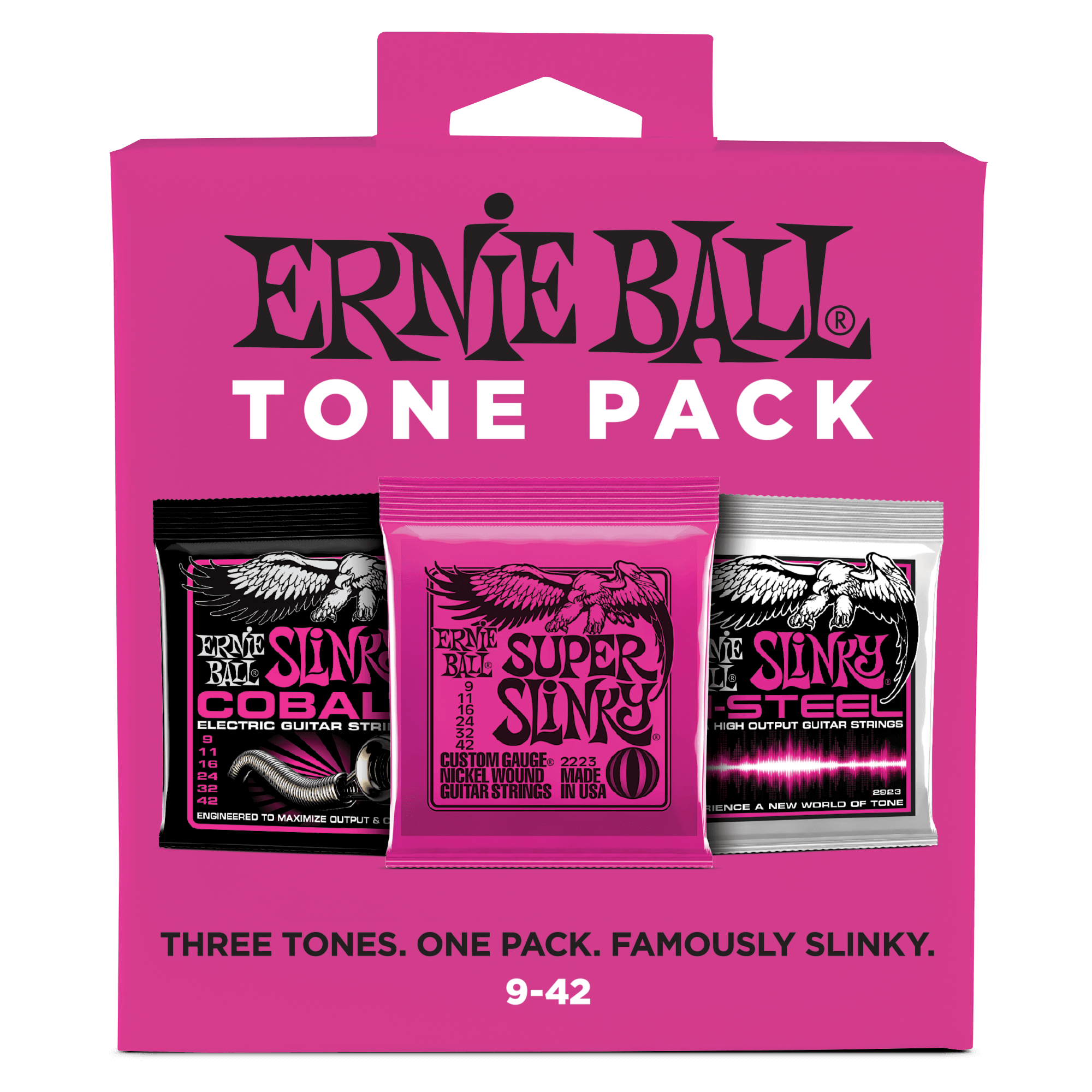 electric tone packs ernie ball. Black Bedroom Furniture Sets. Home Design Ideas