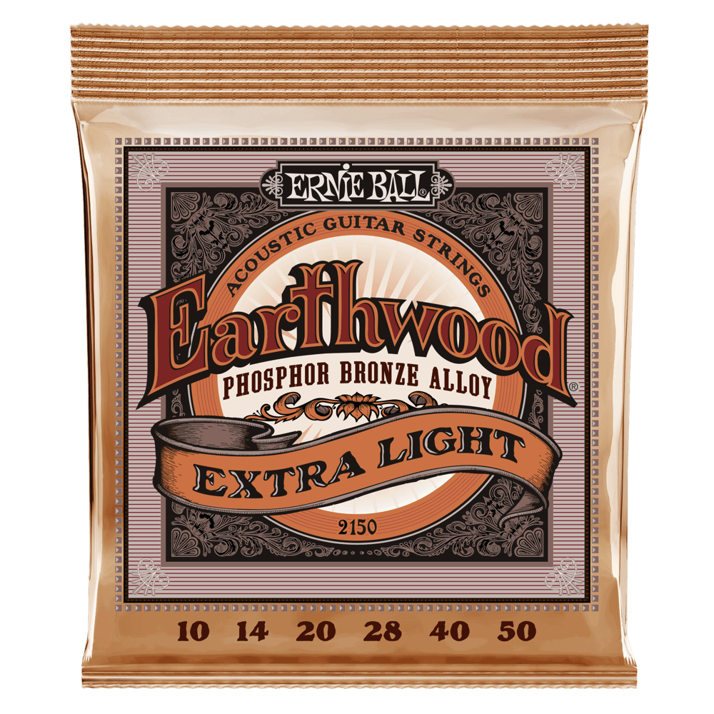 11-52 Ernie Ball Paradigm Phosphor Bronze Acoustic Guitar Strings Light