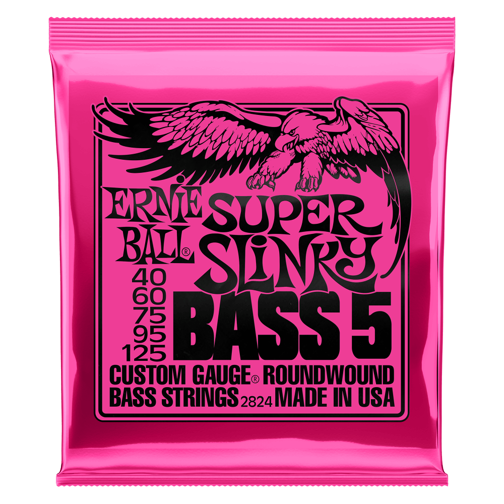slinky nickel wound electric bass 5 6 strings ernie ball. Black Bedroom Furniture Sets. Home Design Ideas