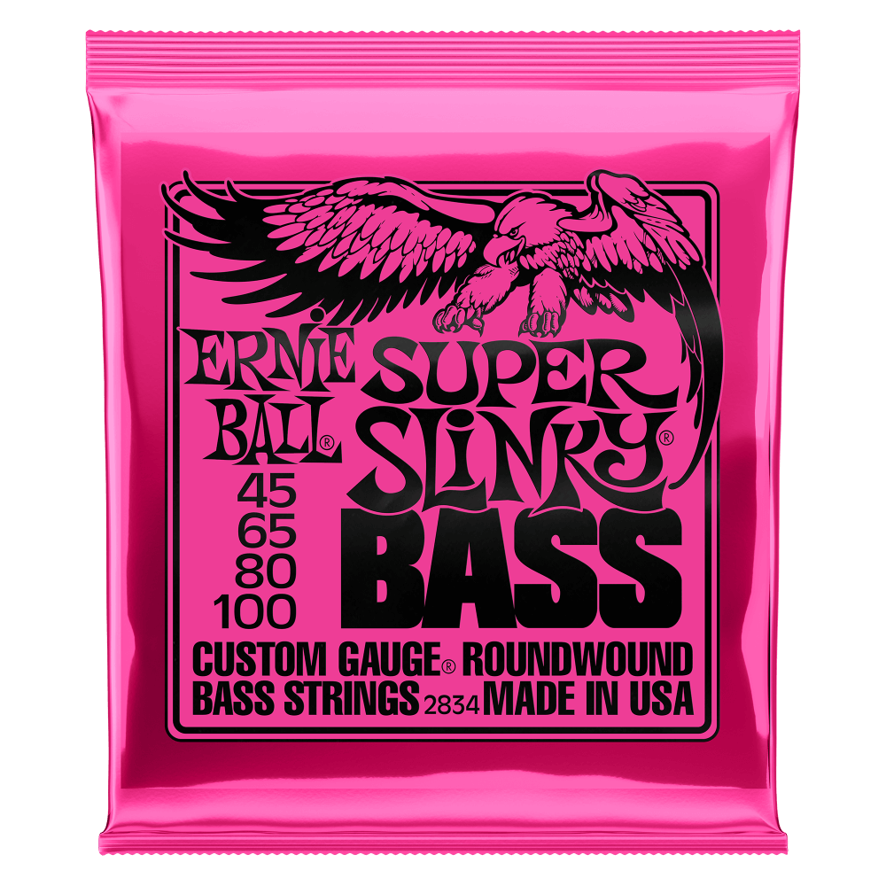 Cordes de basse Slinky Nickel Wound Electric
