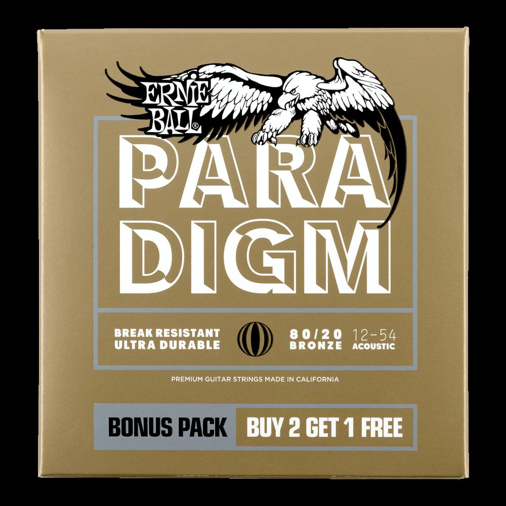 paradigm 80 20 bronze acoustic guitar strings ernie ball. Black Bedroom Furniture Sets. Home Design Ideas