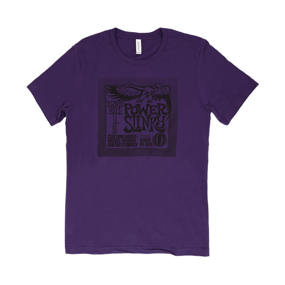 Power Pack T-Shirt Purple Medium Front