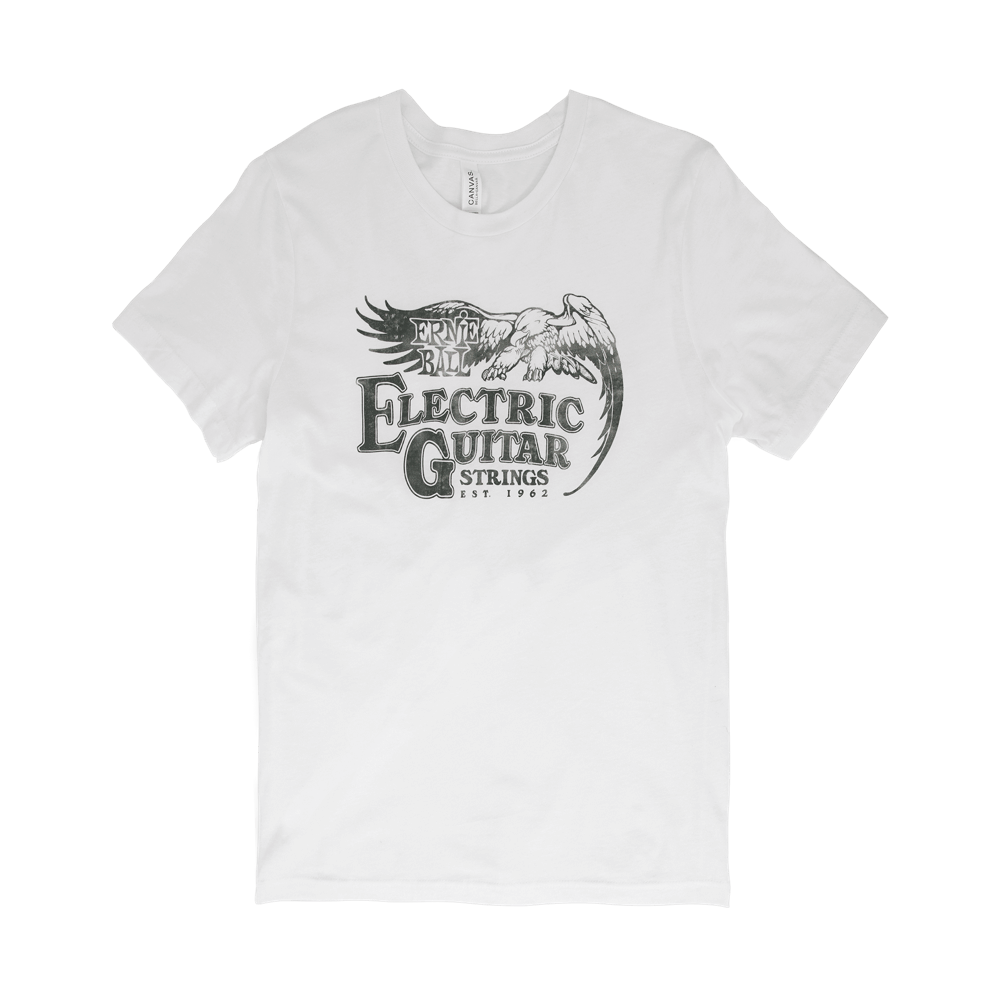 Camiseta pequena Ernie Ball Vintage Established 1962 Eagle Front