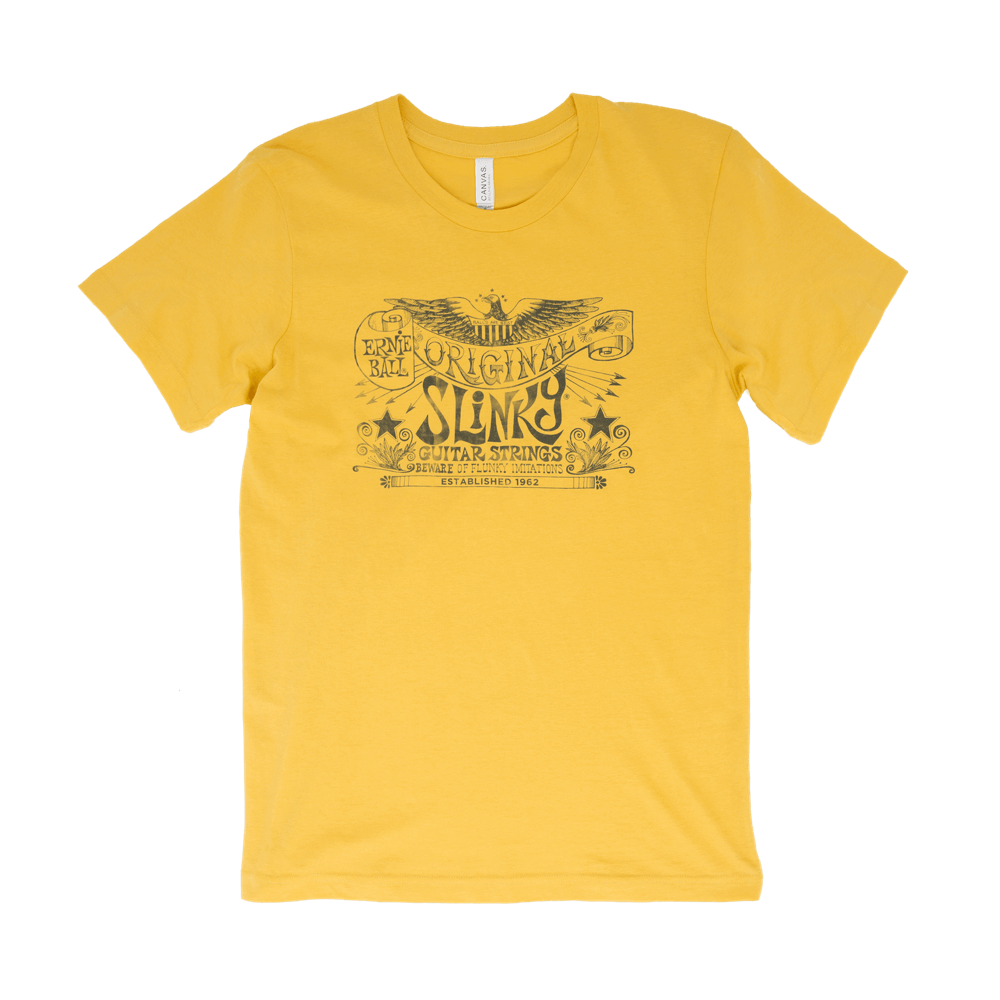 Original Slinky Maize Yellow T-shirts