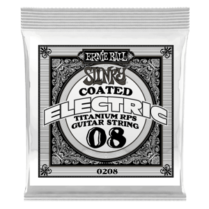 Slinky Coated Titanium Reinforced Plain Electric Guitar Single Strings