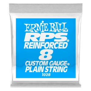 .008 RPS Reinforced Plain Electric Guitar String Thumb