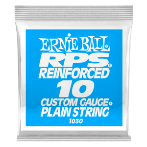 .010 RPS Reinforced Plain Electric Guitar Strings 6 Pack Thumb