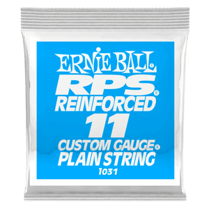 .011 RPS Reinforced Plain Electric Guitar String Thumb
