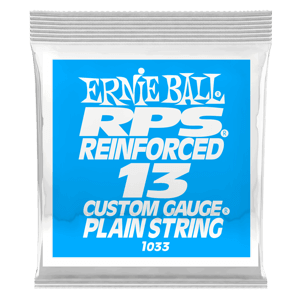 .013 RPS Reinforced Plain Electric Guitar Strings 6 Pack Thumb