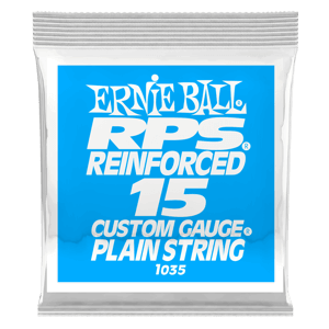 .015 RPS Reinforced Plain E-Gitarrensaite 6er Pack Thumb