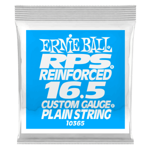 .0165 RPS Reinforced Plain Electric Guitar Strings 6 Pack Thumb