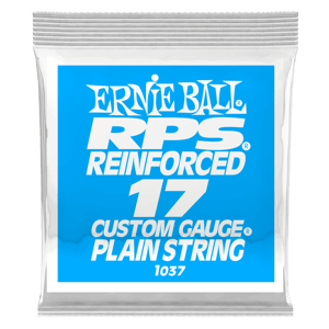 .017 RPS Reinforced Plain Electric Guitar Strings 6 Pack Thumb