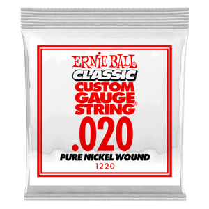 .020 Classic Pure Nickel Wound Electric Guitar String Thumb