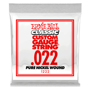.022 Classic Pure Nickel Wound Electric Guitar Strings 6 Pack Thumb