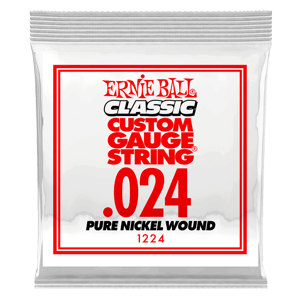 .024 Classic Pure Nickel Wound Electric Guitar String Thumb