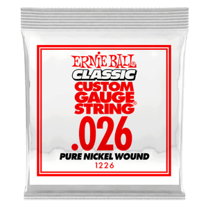 Pack com 06 Cordas para Guitarra Classic Pure Nickel Wound .026 Thumb