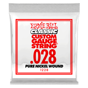 .028 Classic Pure Nickel Wound Electric Guitar String Thumb