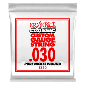 .030 Classic Pure Nickel Wound E-Gitarrensaite 6er Pack Thumb