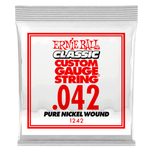 .042 Classic Pure Nickel Wound Electric Guitar String Thumb