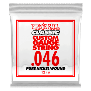 .046 Classic Pure Nickel Wound Electric Guitar Strings 6 Pack Thumb